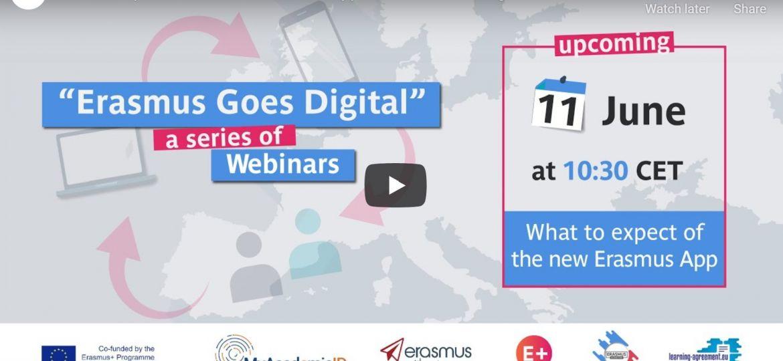 The New Erasmus+ App I video